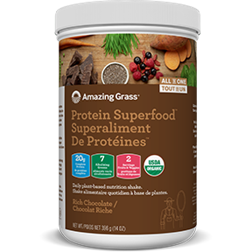 Picture of Amazing Grass Protein Superfood, Chocolate 360g