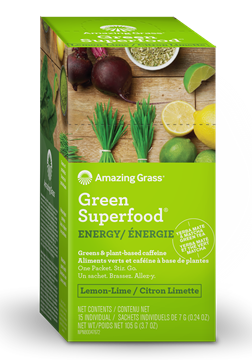 Picture of  Green SuperFood, Energy Lemon Lime 15x7g