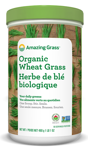 Picture of Amazing Grass Organic Wheat Grass, 480g