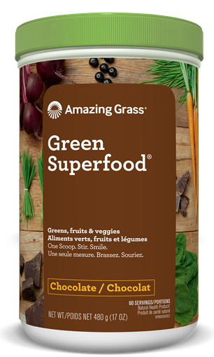 Picture of Amazing Grass Green SuperFood, Chocolate 480g