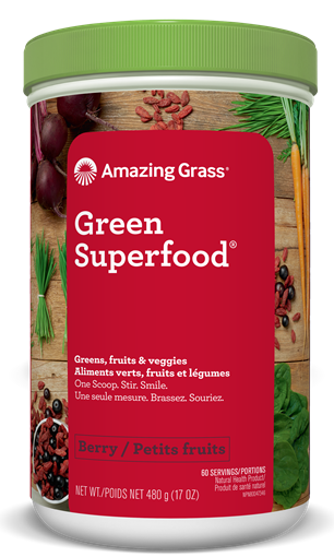 Picture of Amazing Grass Green SuperFood Berry, 480g