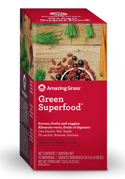 Picture of  Green SuperFood, Berry 15x8g