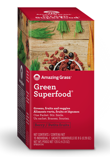 Picture of Amazing Grass Green SuperFood, Berry 15x8g