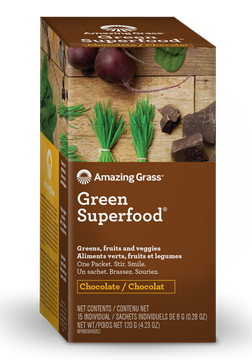 Picture of  Green SuperFood, Chocolate 15x8g