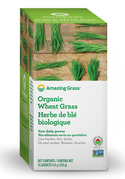 Picture of  Organic Wheat Grass, 15x8g