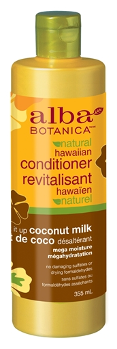 Picture of Alba Botanica Alba Botanica Conditioner, Coconut Milk 355ml