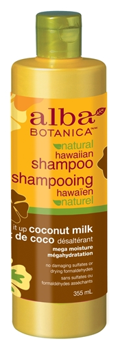 Picture of Alba Botanica Alba Botanica Hawaiian Shampoo, Coconut Milk 355ml