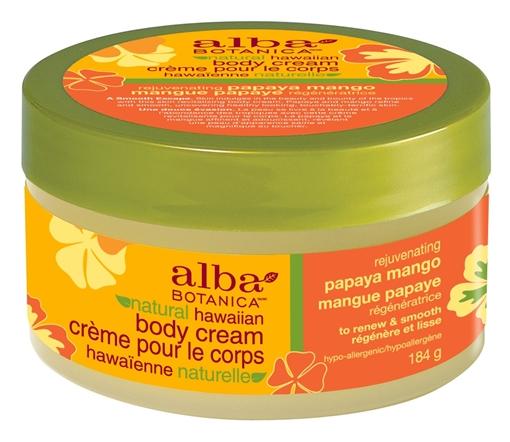 Picture of Alba Botanica Alba Botanica Body Cream, Papaya Mango 184g