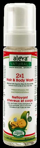 Picture of Aleva Naturals Aleva Naturals 2-in1 Hair & Body Wash, 200ml