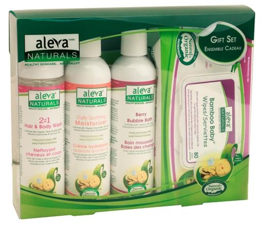 Picture of Aleva Naturals Aleva Naturals Newborn Gift Set