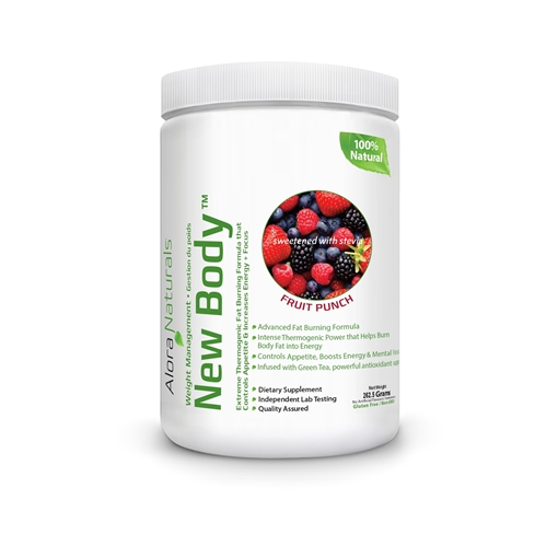 Picture of Alora Naturals Alora Naturals New Body™, Fruit Punch 262.5g