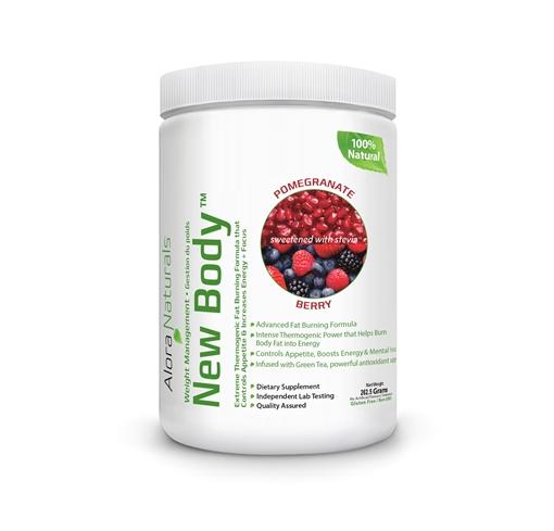 Picture of Alora Naturals Alora Naturals New Body™, Pomegranate Berry 262.5g
