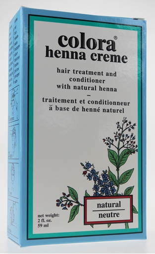 Picture of Colora Henna Colora Henna Creme, Natural 59ml