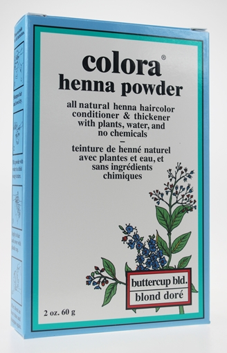 Picture of Colora Henna Colora Henna Powder, Buttercup Blonde 60g