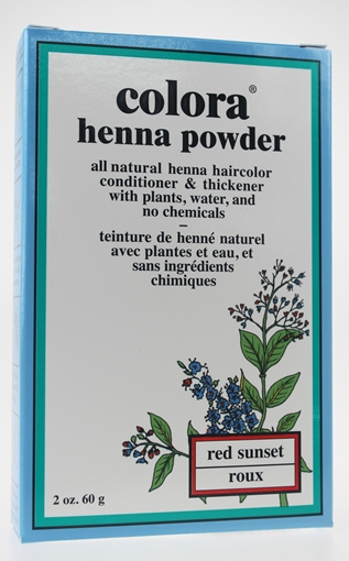 Picture of Colora Henna Colora Henna Powder, Red Sunset 60g