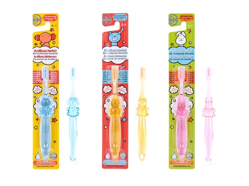 Picture of Thera Wise Thera Wise Children's Toothbrush, Ages 0-4 Assorted Colours