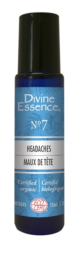 Picture of Divine Essence Headaches Roll-on No.7, 15ml