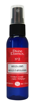 Picture of Divine Essence Muscles and Joints Spray No.2, 60ml