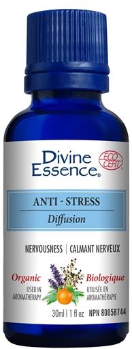 Picture of Divine Essence Anti-Stress Blend (Organic), 30ml