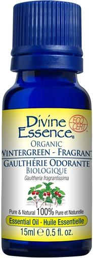 Picture of Divine Essence Wintergreen Fragrant (Organic), 15ml