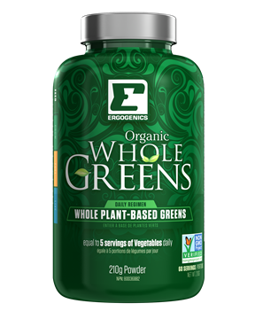 Picture of Ergogenics Nutrition Organic Whole Greens Powder, 210g