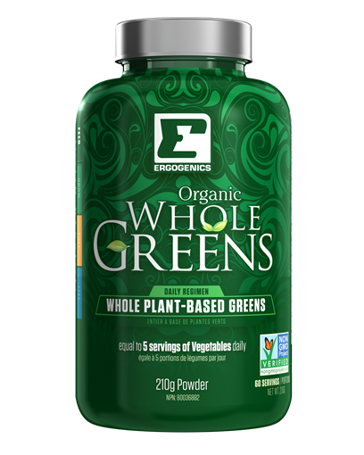 Picture of Ergogenics Nutrition Organic Whole Greens Powder, 210g