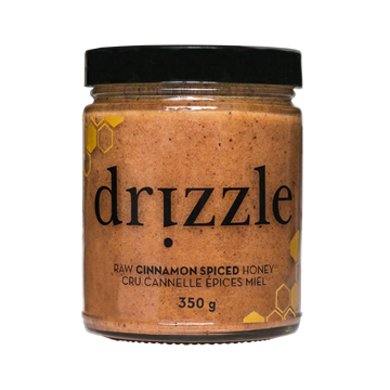 Picture of  Honey Cinnamon Spiced Raw Honey, 350g