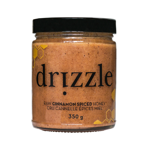 Picture of Drizzle Honey Honey Cinnamon Spiced Raw Honey, 350g