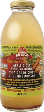 Picture of  Bragg Apple Cider Vinegar Drink, Apple Cinnamon 473ml