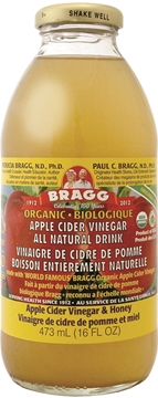 Picture of  Bragg Apple Cider Vinegar Drink, Honey 473ml