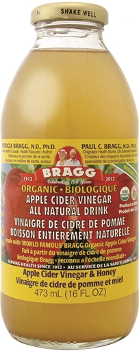 Picture of Bragg Live Foods Bragg Apple Cider Vinegar Drink, Honey 473ml