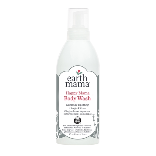 Picture of Earth Mama Happy Mama Body Wash, 1L