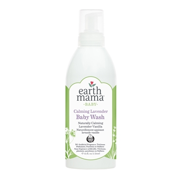 Picture of Earth Mama Calming Lavender Baby Wash, 1L
