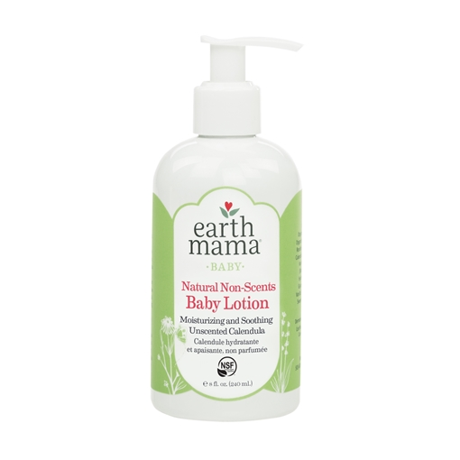 Picture of Earth Mama Natural Non-Scents Baby Lotion, 240ml