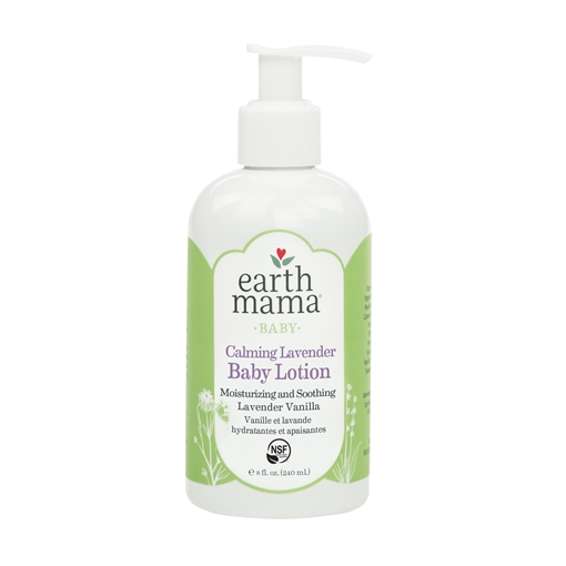 Picture of Earth Mama Calming Lavender Baby Lotion, 240ml