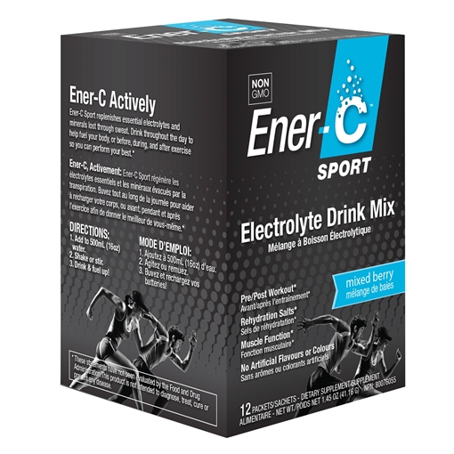 Picture of Ener-C Ener-C Sport Electrolyte Mixed Berry Drink Mix, 12 Pack