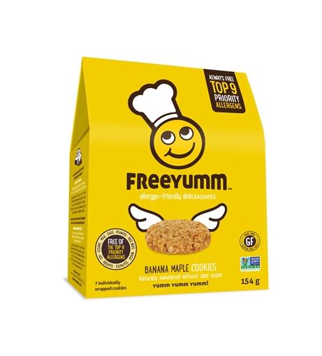 Picture of FreeYumm Banana Maple Cookie, 6x154g
