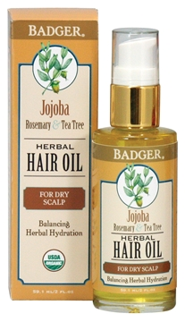 Picture of  Badger Hair Oil, Jojoba 59.1ml