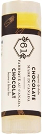 Picture of Crate 61 Organics Crate 61 Organics Lip Balm, Chocolate 4.3g