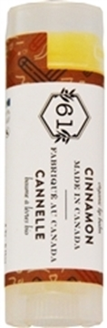 Picture of  Crate 61 Organics Lip Balm, Cinnamon 4.3g