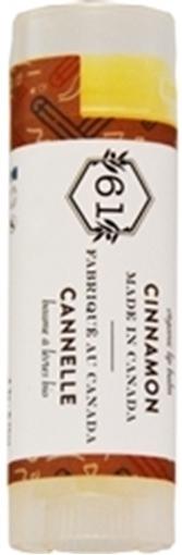 Picture of Crate 61 Organics Crate 61 Organics Lip Balm, Cinnamon 4.3g