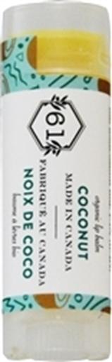Picture of Crate 61 Organics Crate 61 Organics Lip Balm, Coconut 4.3g