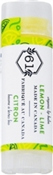 Picture of  Crate 61 Organics Lip Balm, Lemon Lime 4.3g