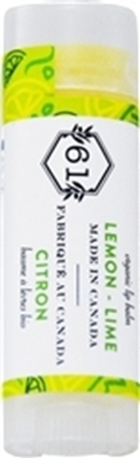 Picture of Crate 61 Organics Crate 61 Organics Lip Balm, Lemon Lime 4.3g