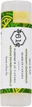 Picture of Crate 61 Organics Crate 61 Organics Lip Balm, Peppermint Lemongrass 4.3g