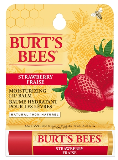 Picture of Burts Bees Burt's Bees Lip Balm, Strawberry 4.25g