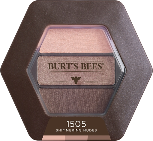 Picture of Burts Bees Burt's Bees Eyeshadow Trio, Shimmering Nudes 3.4g