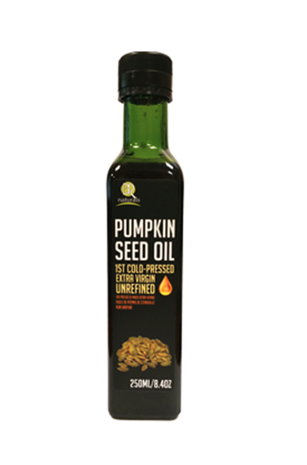 Picture of BR Naturals Pumpkin Seed Oil Extra Virgin, 250mL