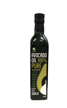 Picture of  Avocado Garlic Oil Extra Virgin, 500 ml