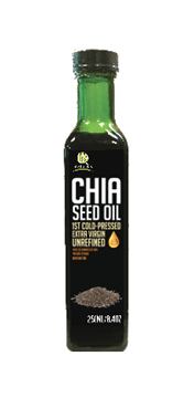 Picture of  Chia Seed Oil Extra Virgin, 250 ml